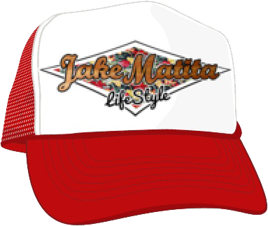 jm-trucker cap-red